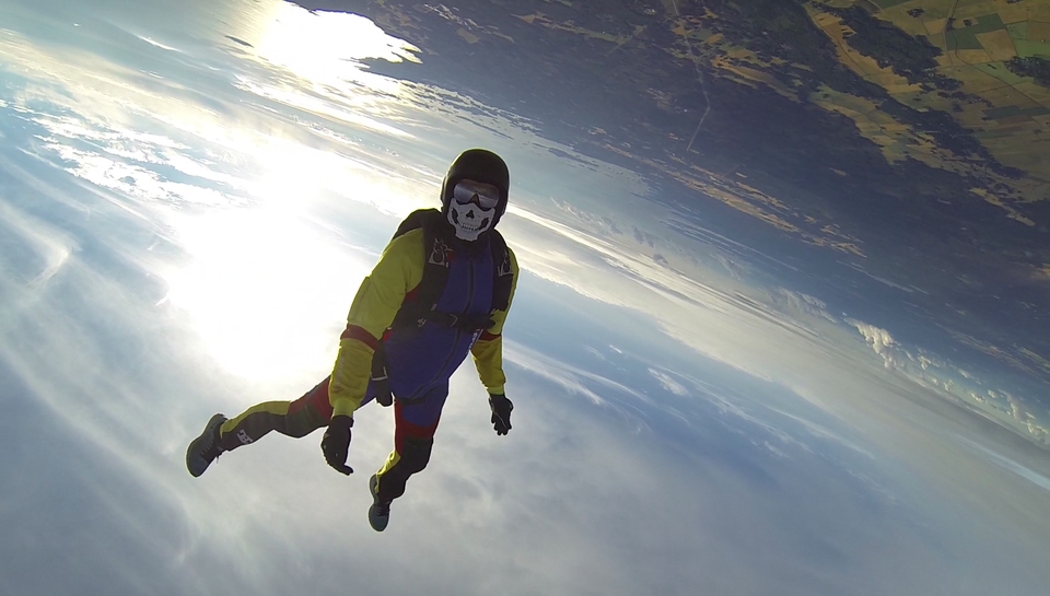 Awesome skydive